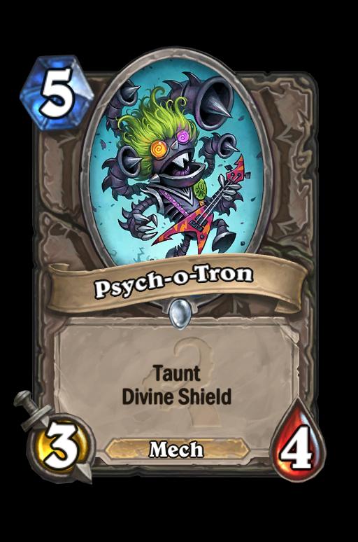 Psych-o-Tron Hearthstone kártya