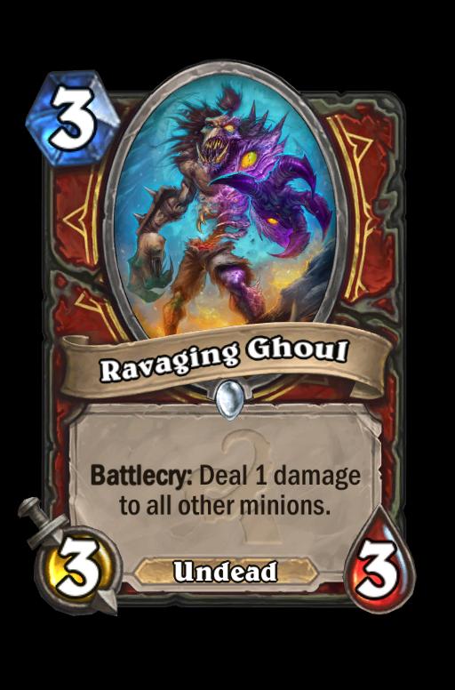 Ravaging Ghoul Hearthstone kártya