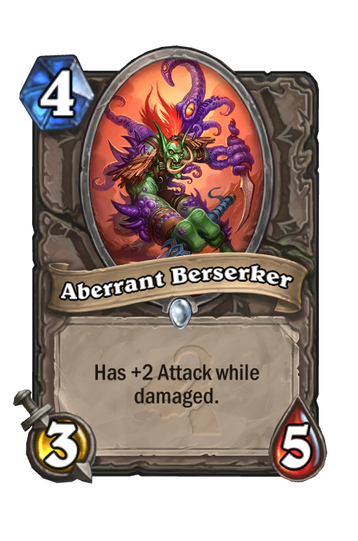 Aberrant Berserker Hearthstone kártya