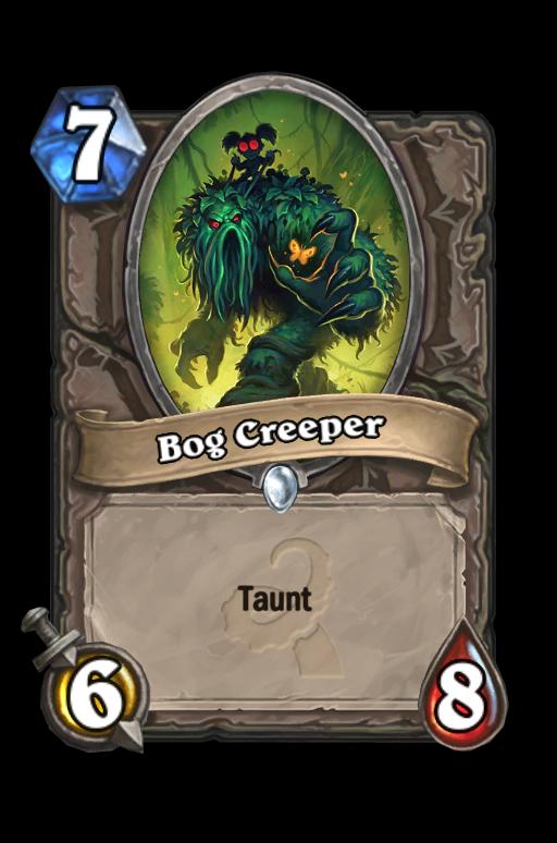 Bog Creeper Hearthstone kártya