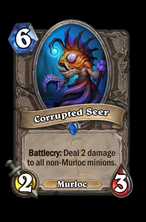Corrupted Seer Hearthstone kártya