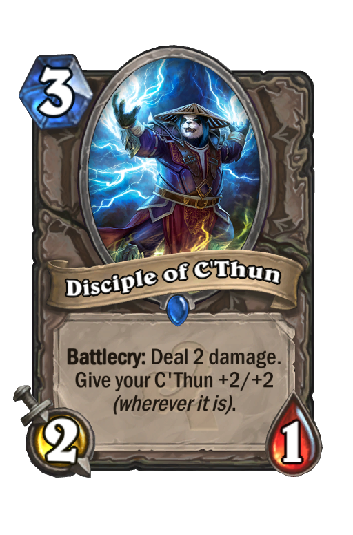 Disciple of C'Thun Hearthstone kártya