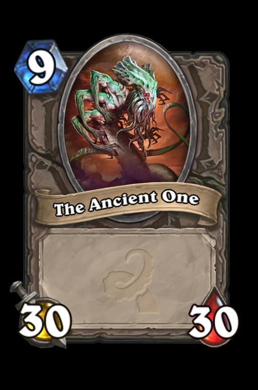 The Ancient One Hearthstone kártya