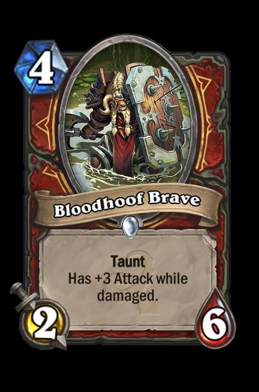 Bloodhoof Brave Hearthstone kártya