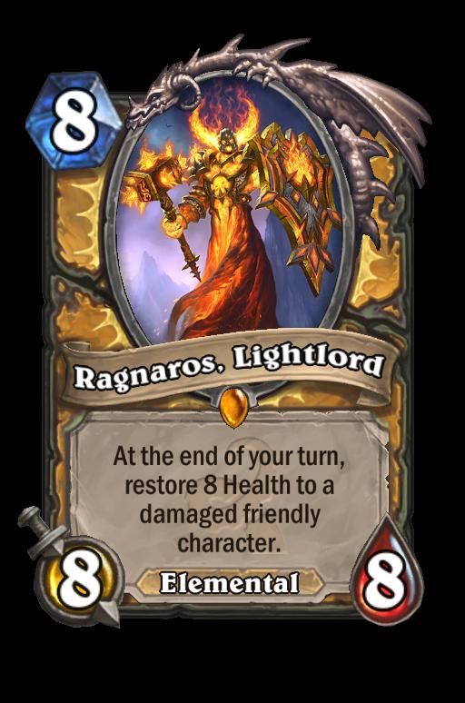 Ragnaros, Lightlord Hearthstone kártya