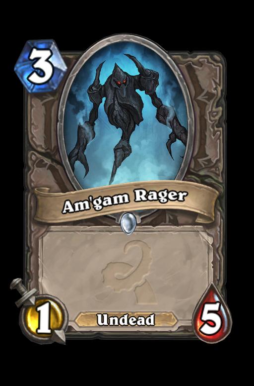 Am'gam Rager Hearthstone kártya