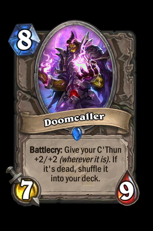 Doomcaller Hearthstone kártya