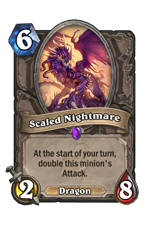 Scaled Nightmare Hearthstone kártya