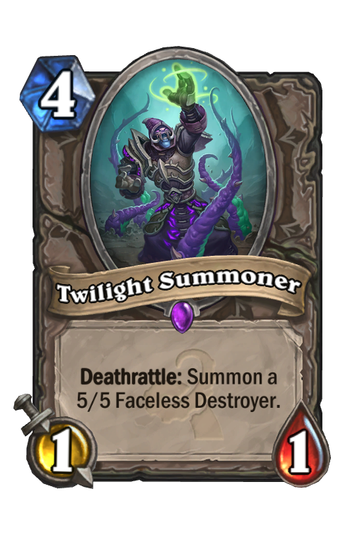 Twilight Summoner Hearthstone kártya