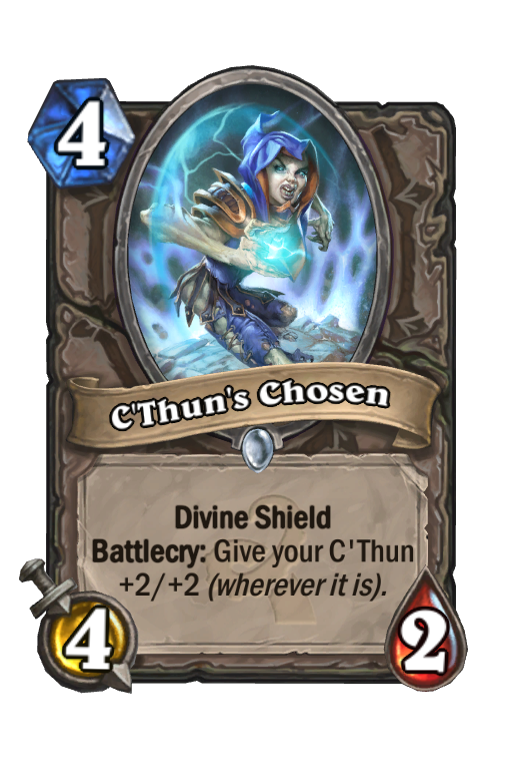 C'Thun's ChosenHearthstone kártya
