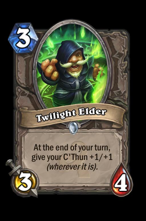 Twilight Elder Hearthstone kártya
