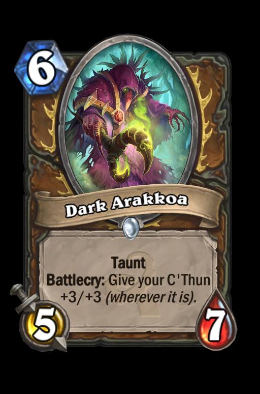 Dark ArakkoaHearthstone kártya