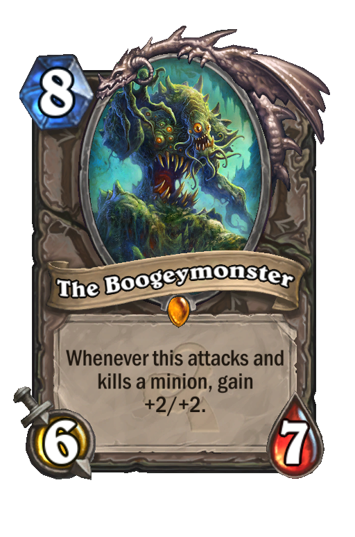The Boogeymonster Hearthstone kártya