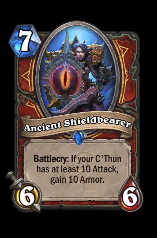 Ancient Shieldbearer Hearthstone kártya