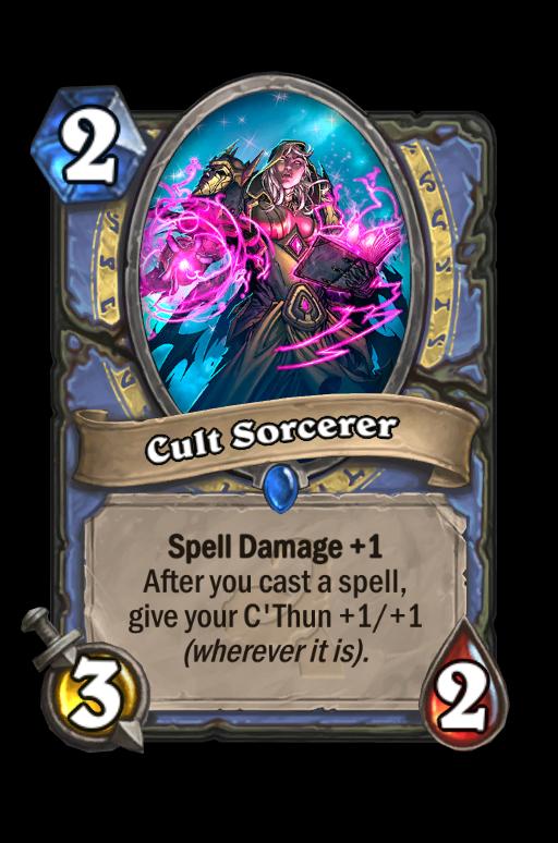 Cult Sorcerer Hearthstone kártya