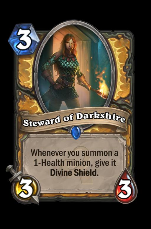 Steward of Darkshire Hearthstone kártya