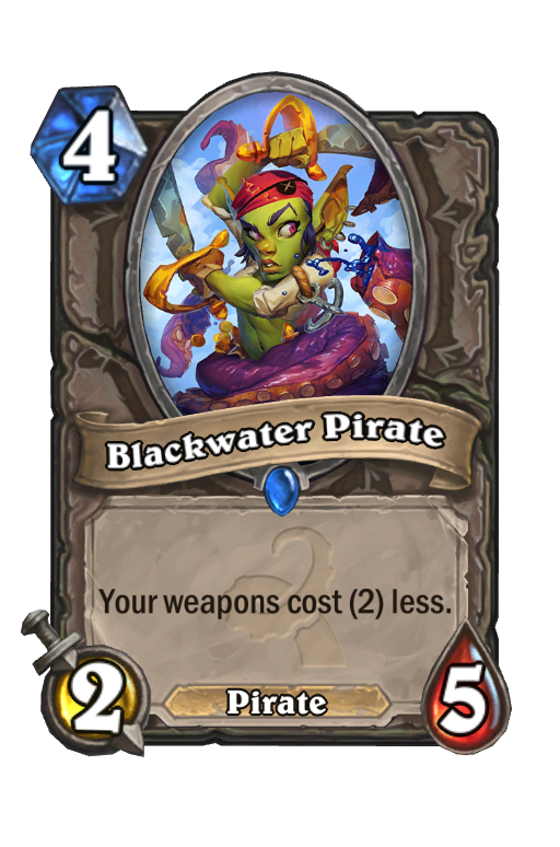 Blackwater Pirate Hearthstone kártya