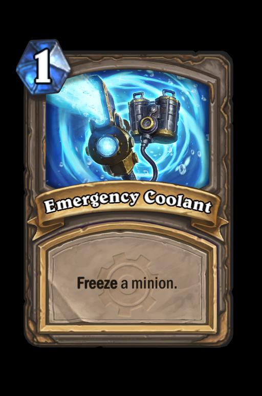 Emergency Coolant Hearthstone kártya