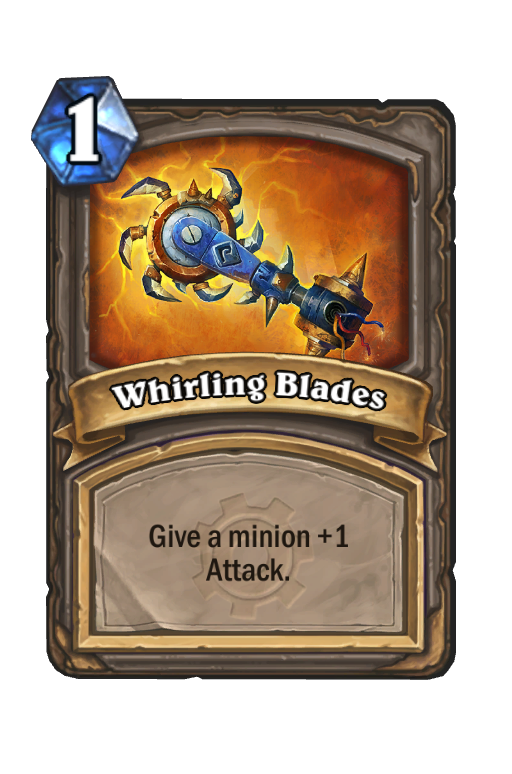 Whirling Blades Hearthstone kártya