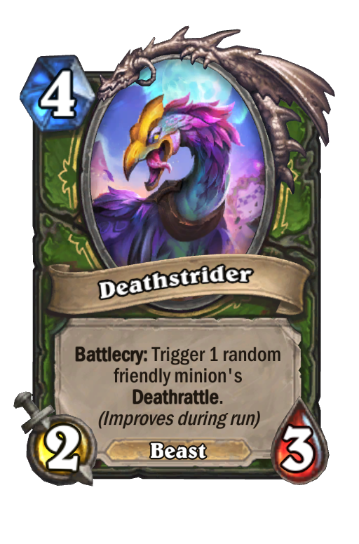 Deathstrider Hearthstone kártya