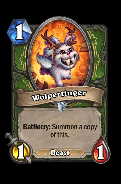 Wolpertinger Hearthstone kártya