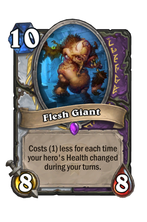 Flesh Giant Hearthstone kártya