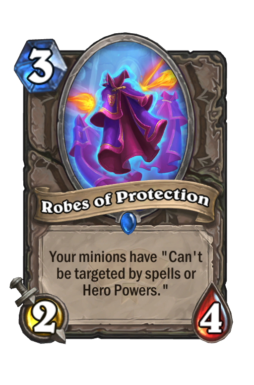 Robes of Protection Hearthstone kártya