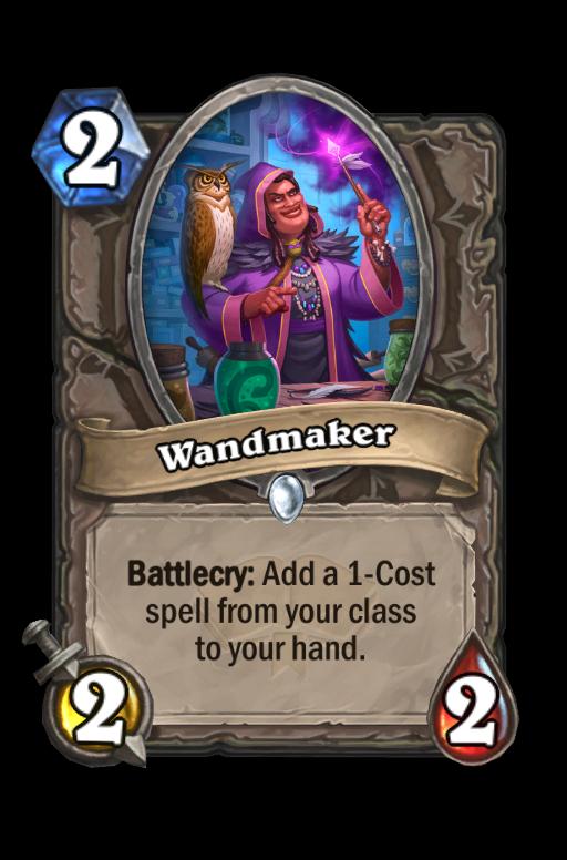 Wandmaker Hearthstone kártya