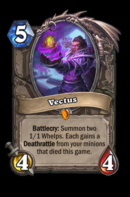 Vectus Hearthstone kártya