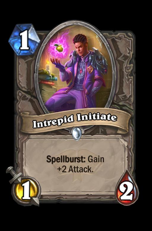 Intrepid Initiate Hearthstone kártya