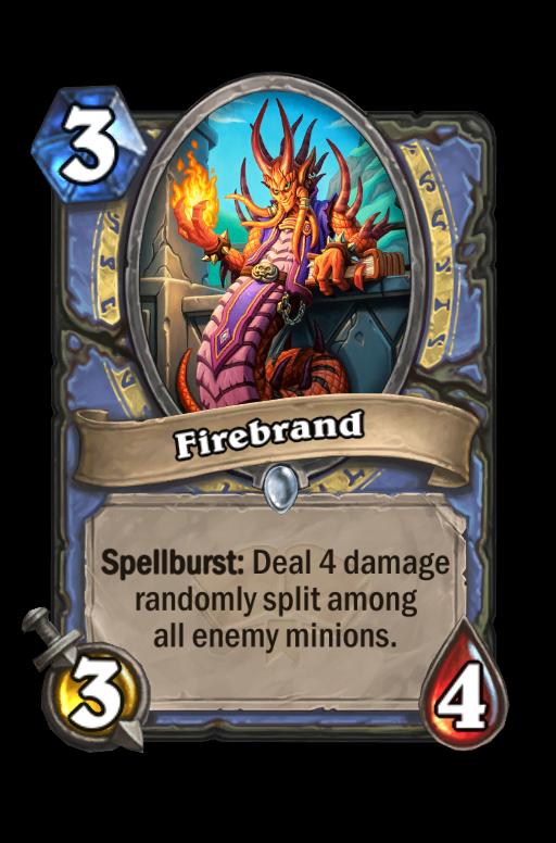 Firebrand Hearthstone kártya