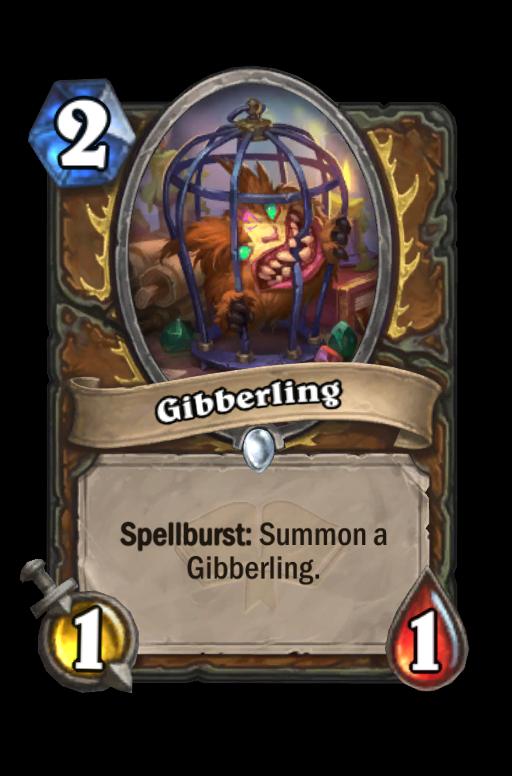 Gibberling Hearthstone kártya
