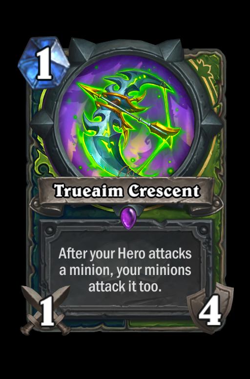 Trueaim Crescent Hearthstone kártya