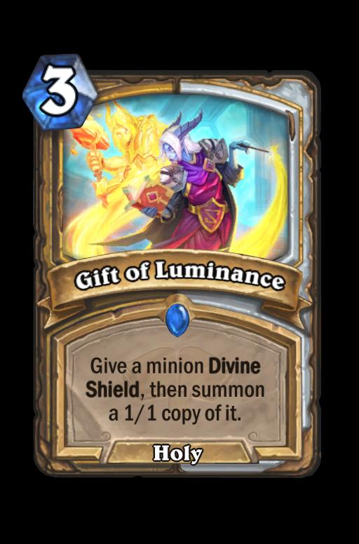 Gift of Luminance Hearthstone kártya