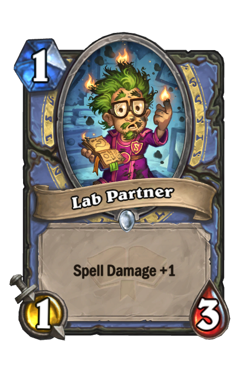 Lab Partner Hearthstone kártya