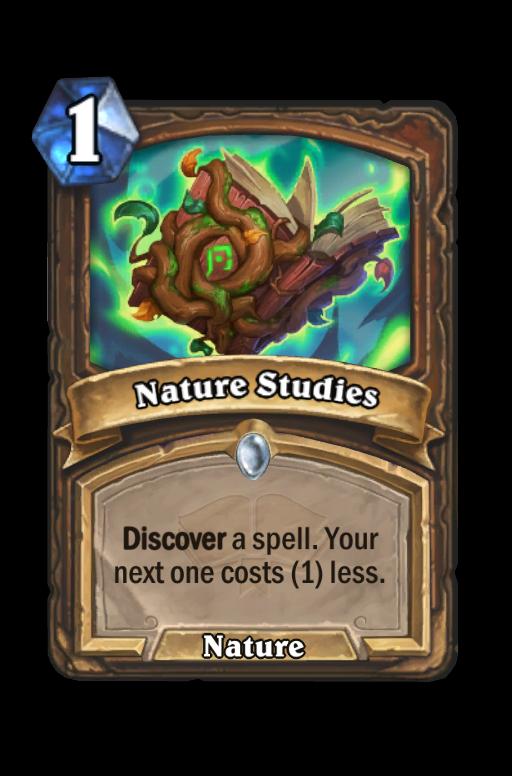 Nature Studies Hearthstone kártya