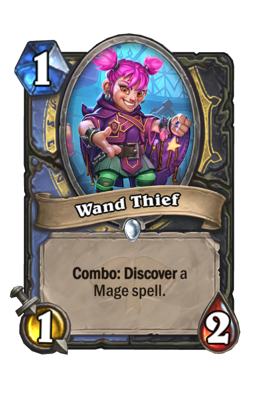 Wand Thief Hearthstone kártya