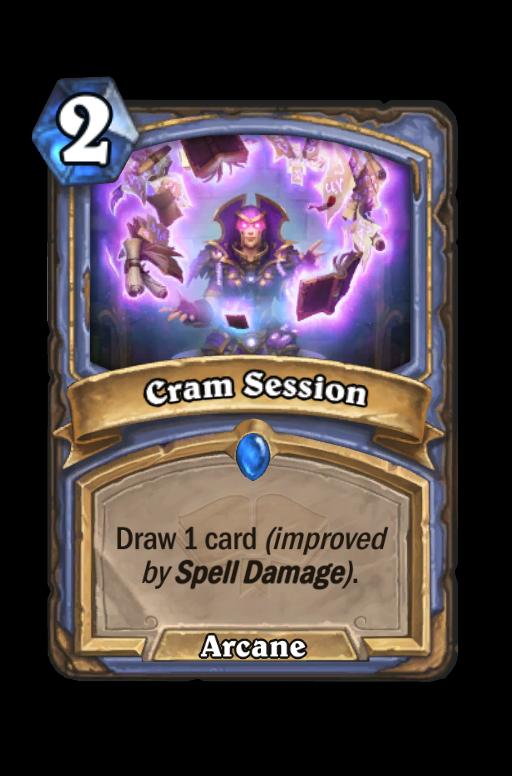 Cram Session Hearthstone kártya
