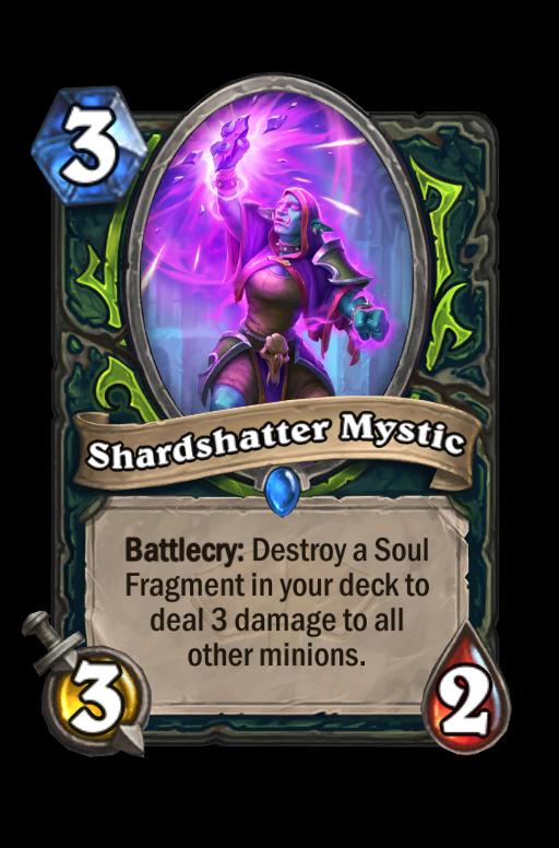 Shardshatter Mystic Hearthstone kártya