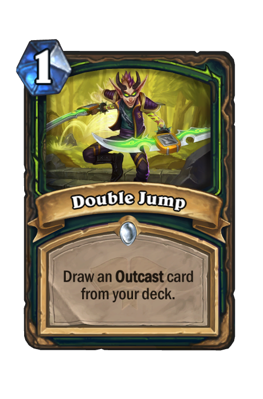 Double Jump Hearthstone kártya