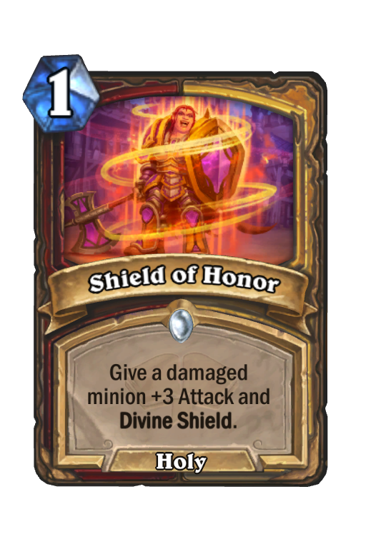 Shield of Honor Hearthstone kártya