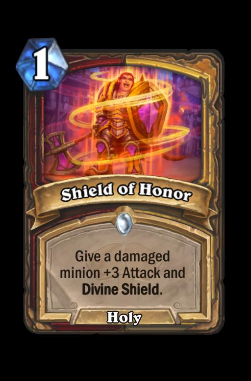 Shield of Honor Hearthstone kártya
