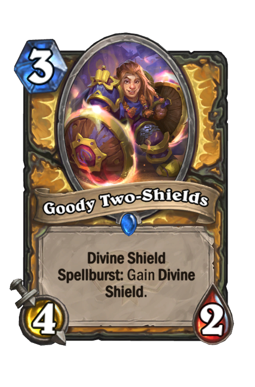 Goody Two-Shields Hearthstone kártya
