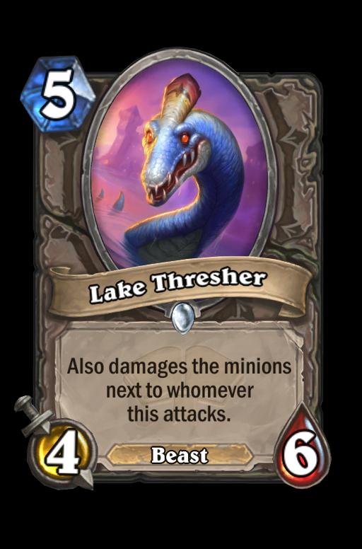 Lake Thresher Hearthstone kártya