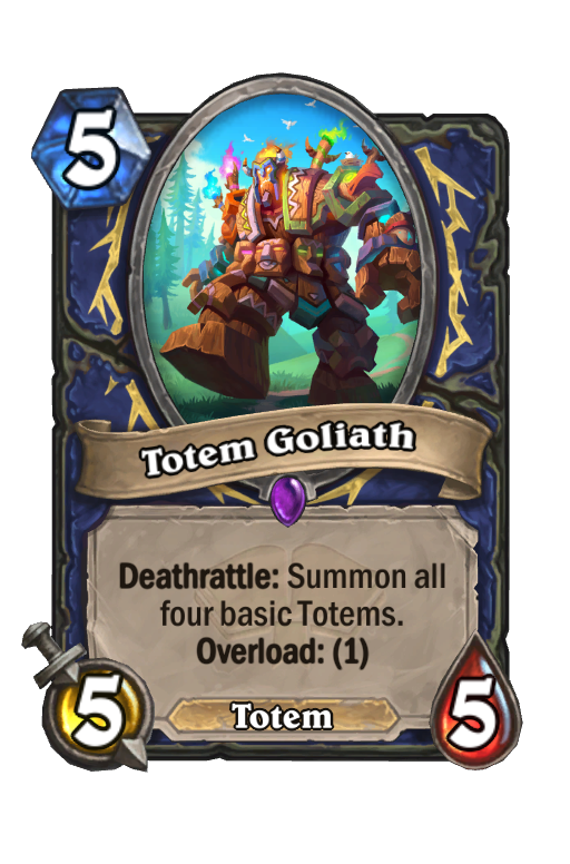 Totem Goliath Hearthstone kártya