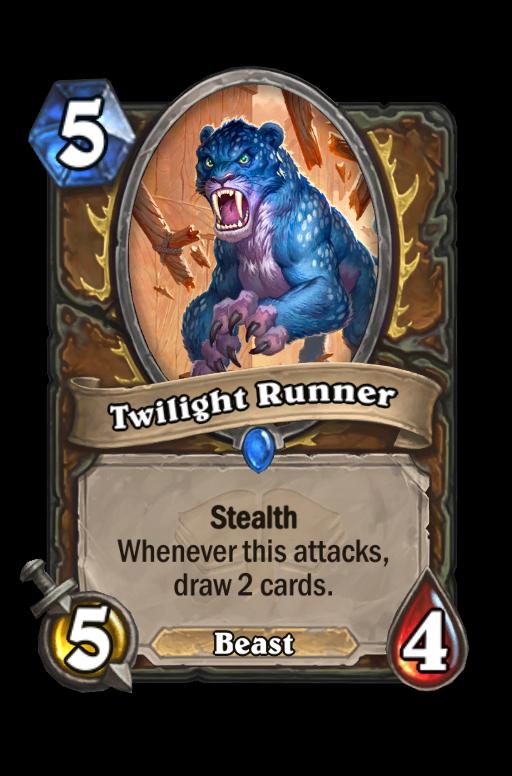 Twilight Runner Hearthstone kártya