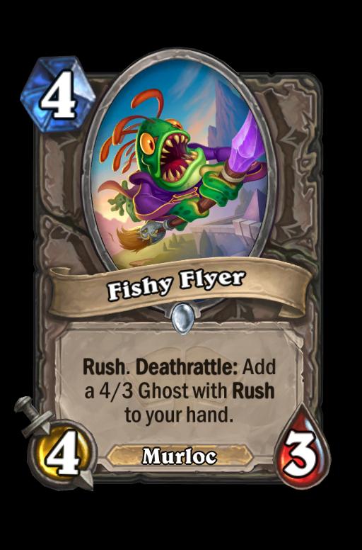 Fishy Flyer Hearthstone kártya