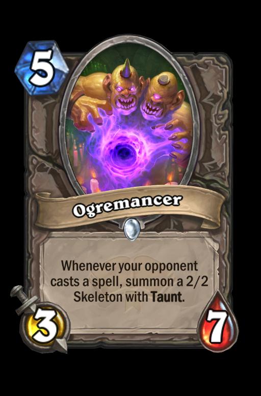 Ogremancer Hearthstone kártya