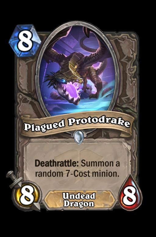 Plagued Protodrake Hearthstone kártya