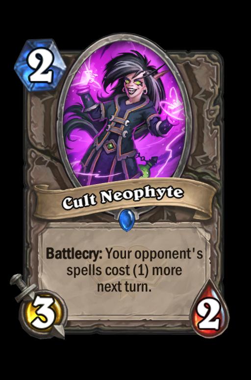 Cult Neophyte Hearthstone kártya